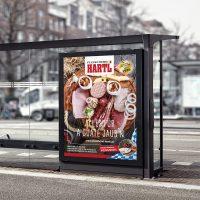 Hartl Billboard MockUp Quadrat